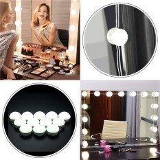 12x Hollywood Style LED Bulbs Vanity Makeup Dressing Mirror Lights USB Powered White - intl Philippines
