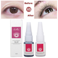 15ml Long Lasting 30 Days Glue False Eye Lash Extensions Eyelashes Adhesives Clear - intl Philippines