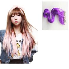 1Pc 60cm Hair Extension Hairpiece Curly High Heat Resistance Clip Hair Synthetic - intl