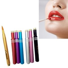 1pc Makeup Brushes Aluminum Portable Flexible Lip Brush Tool - intl Philippines