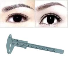 1PC Microblading Reusable Makeup Measure Eyebrow Guide Ruler Permanent Tools - intl Philippines