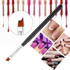 1pc Nail Brush UV Gel Painting Nail Art Pen Black Handle Manicure Tool - intl Philippines