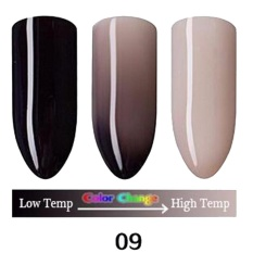 1pc Nail Gel Polish Temperature Change Nail Color UV Gel Polish 10ml Nail Gel I - intl Philippines