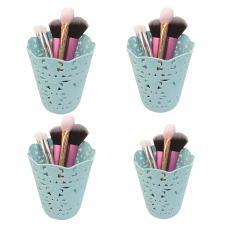 4x Plastic Round Makeup Brush Pen Holder Organizer Philippines
