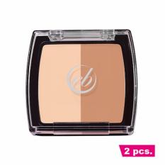 2 pcs. Ever Bilena Contour Duo - Warm Philippines