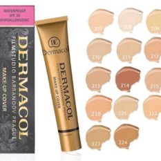 #208 Dermacol Make-Up Cover Foundation Shades Philippines