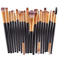 20Pcs Comestic Makeup Brushes Set (Black&Gold) Philippines