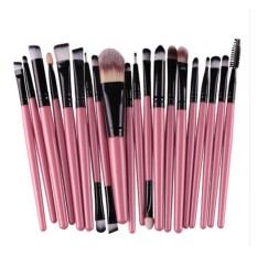 20Pcs Comestic Makeup Brushes Set (Pink&Black) Philippines