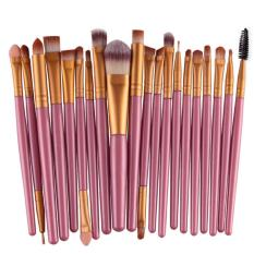20Pcs Comestic Makeup Brushes Set (Pink&Gold) Philippines