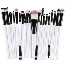 20Pcs Comestic Makeup Brushes Set (White&Black) Philippines