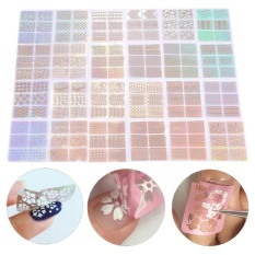 24 Sheet/Set New Nail Art Stickers Hollow Nail Transfer Decals Manicure Accessory Decoration - intl Philippines