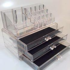 3 LAYER ACRYLIC MAKE UP ORGANIZER / COSMETIC ORGANIZER JCE Philippines