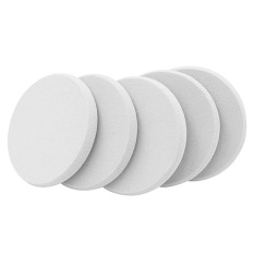 30  Pcs Round Makeup Cosmetics Sponge Facial Powder Puff Blush Foundation Applicator Powder Puff Beauty Tool White (Intl) Philippines