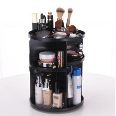 360 Rotating Make up Organizer 360 Degree Rotating Cosmetic Storage Display Make Up Rack Beauty Care Holder Rack Clear Cosmetic Drawers Jewelry Makeup Storage Display Organizer Box Philippines