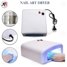 36W Gel Curing UV Lamp EU Plug Nail Lamp Curing Light Nail Art Dryer Tools (White) Philippines