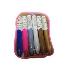 3D Nail Art Paint Drawing Pen 12 Pieces with Bag (Multicolor) Philippines