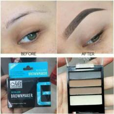 Buy 1 get 1 free 3in1 eyebrow powder 3 colors with applicator Philippines