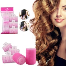 3PCS Magic Air bang Hair Styling Curlers Rollers Clip No heat Easy to use - intl