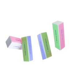 4pcs/pack 4 Sides Nail Art Files Buffer Block Manicure Tool Pro Home use - intl Philippines