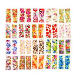 50 sheet(s) of the new 2015 Water Transfer Nail Flower Stickers