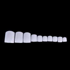 500Pcs Acrylic False Fake Artificial Toe Nails Tips For Nail Art Decor White - intl Philippines