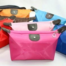 5PCs Candy Color Dumpling Cosmetic Bag Bathroom Bag Makeup Bags - intl Philippines