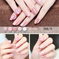 5Pcs Nail Art Stamping Polish Nail Palisade Latex Manicure Set F - intl Philippines