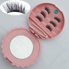 6PCS Reusable Box 3D Magnetic False Eyelashes Long Natural Eye Lashes Extension - intl Philippines