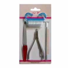 A & W Pedicure Set 4-pc Pedicure Cleaning Set Philippines