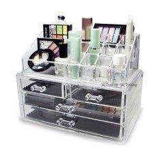 Acrylic Jewelry Makeup Cosmetic Organizer Case Display Holder Drawer Box Storage Philippines