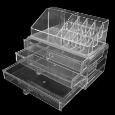 Acrylic Lipstick Holder Cosmetic Organizer Storage Makeup Box Drawer Clear Philippines