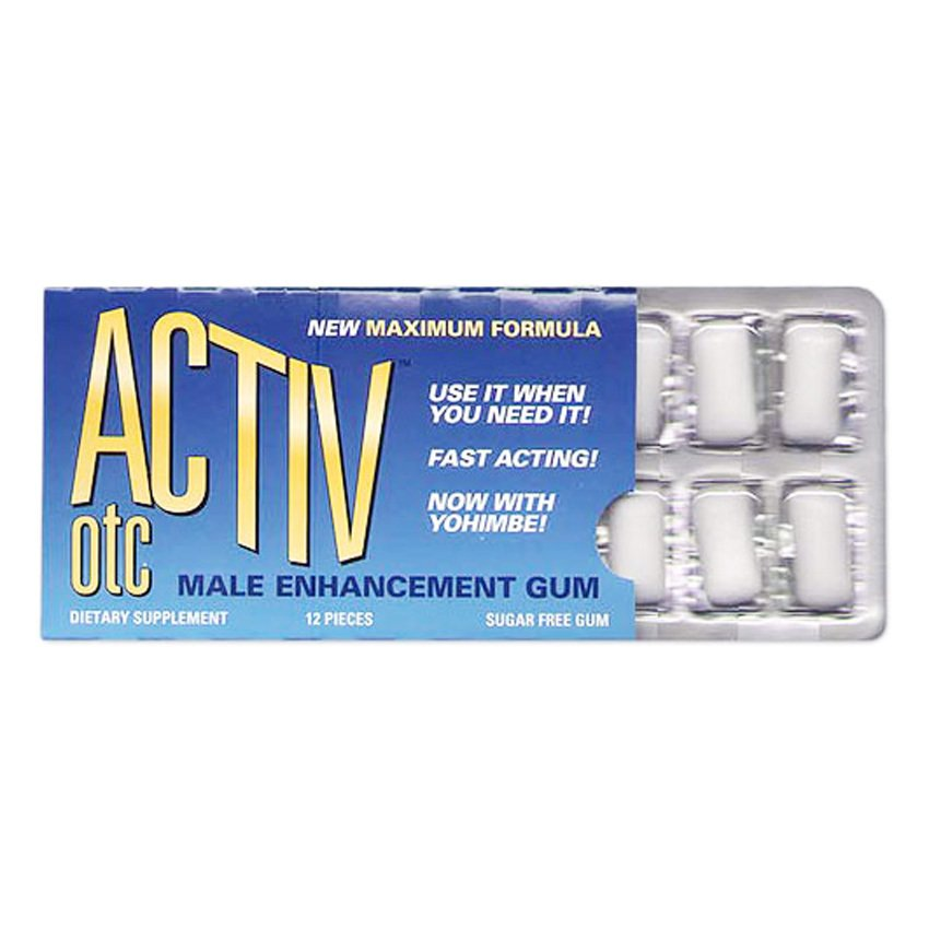 Activ OTC Male Enhancement Gum product preview, discount at cheapest price