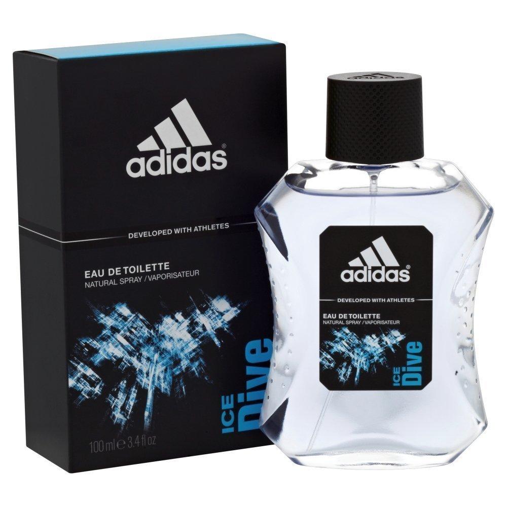 Adidas Ice Dive Eau De Toilette Perfume For Men 100ml - thumbnail