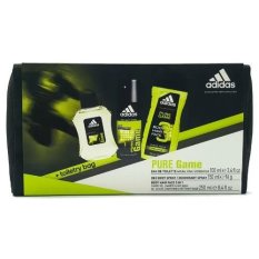 eedc23f98e69 Adidas Pure Game Set (Eau de Toilette 100ml + Deo Spray 150ml + Shower Gel