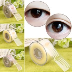 Allwin 300 Pair Adhesive Invisible Wide/Narrow Double Eyelid Sticker Tape Makeup Grey - intl Philippines