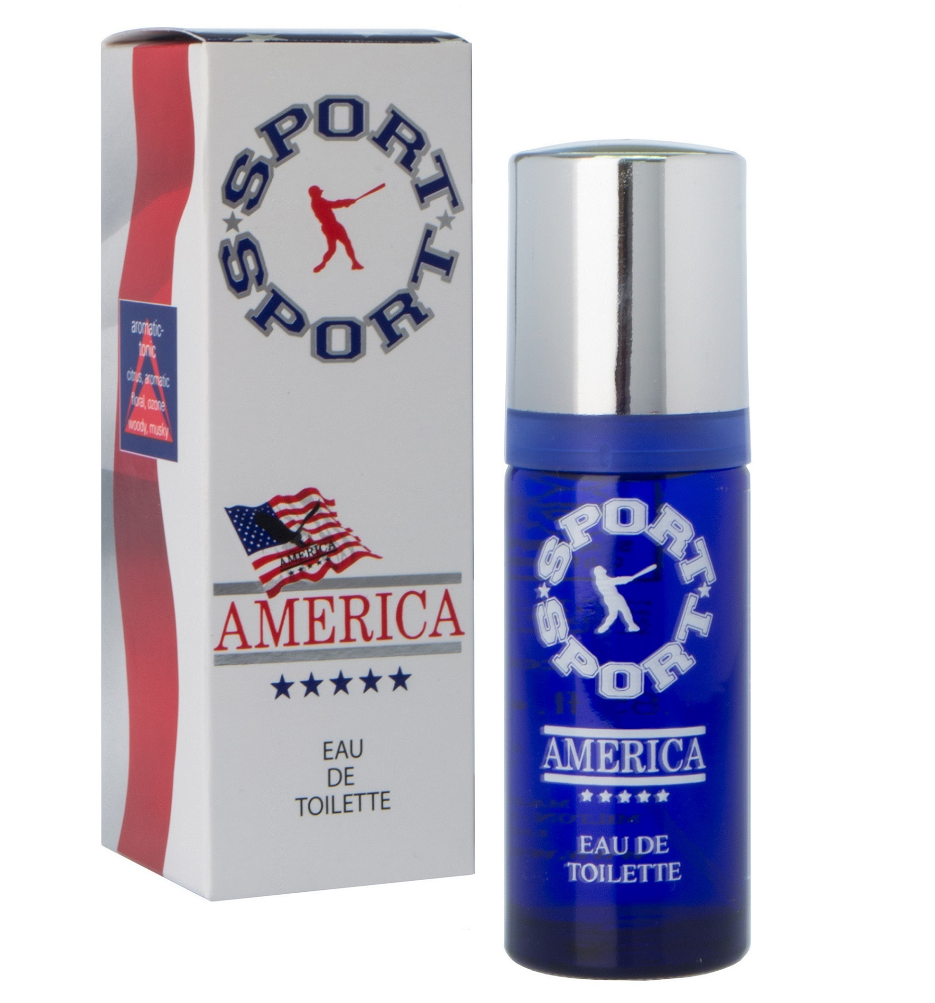America Sport Eau De Toilette 55ml for Men product preview, discount at cheapest price