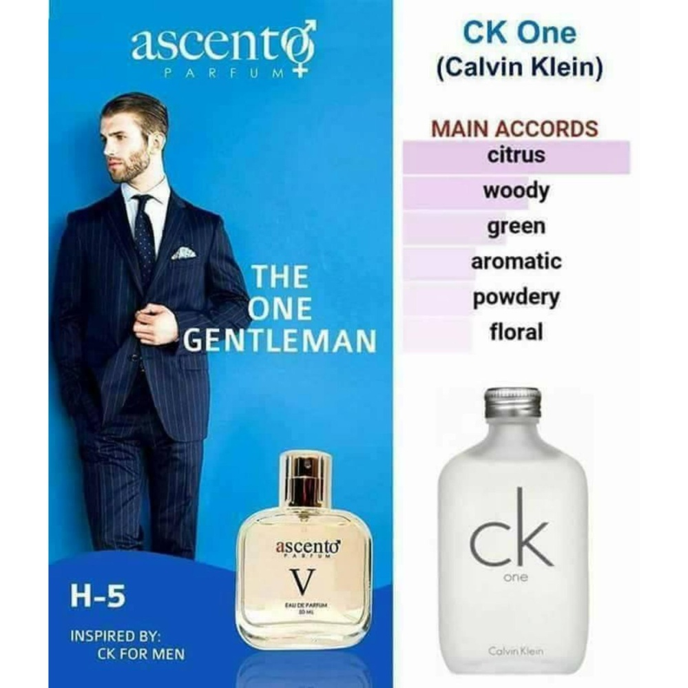 Ascento-Parfume CK One H5 product preview, discount at cheapest price