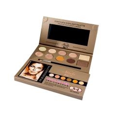 Ashley Shine Nudes Highlighter and pro Contour Blush Powder Makeup Palette Philippines