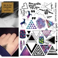 Assorted Small Tattoos - Art Is For Everyone! by:missholika Premium Quality 3D Temporary Tattoos LC-877 Philippines