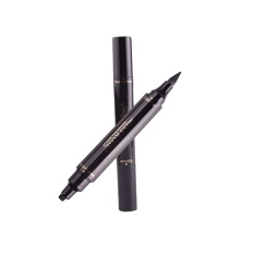 Aukey newstyle Stamp Double Head Eyeliner Pencil Eye Makeup Cosmetic Waterproof Long Lasting - intl Philippines
