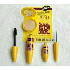 AUTHENTIC Maybelline 3in1 Mascara+Eyeliner+Powder Philippines