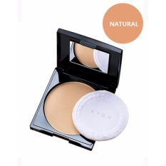 Avon Ideal Oil Control Plus Dual Powder Foundation Spf 24/Pa++9g (Natural) Philippines