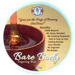 Bare Body Original Sugaring Wax Hair Remover 200g