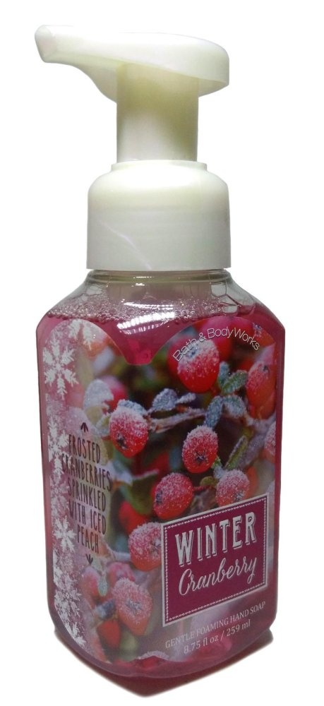 Bath and Body Works Winter Cranberry Gentle Foaming Hand Soap 259ml