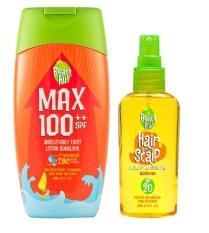 Beach Hut Max Spf100++ Sunblock 100ml And Beach Hut Hair And Scalp Spray Sunblock Spf20 80ml By Dragon Edge Group.