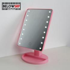 Below SRP Illuminated Desktop Table Make Up Mirror with LED (Pink) Philippines