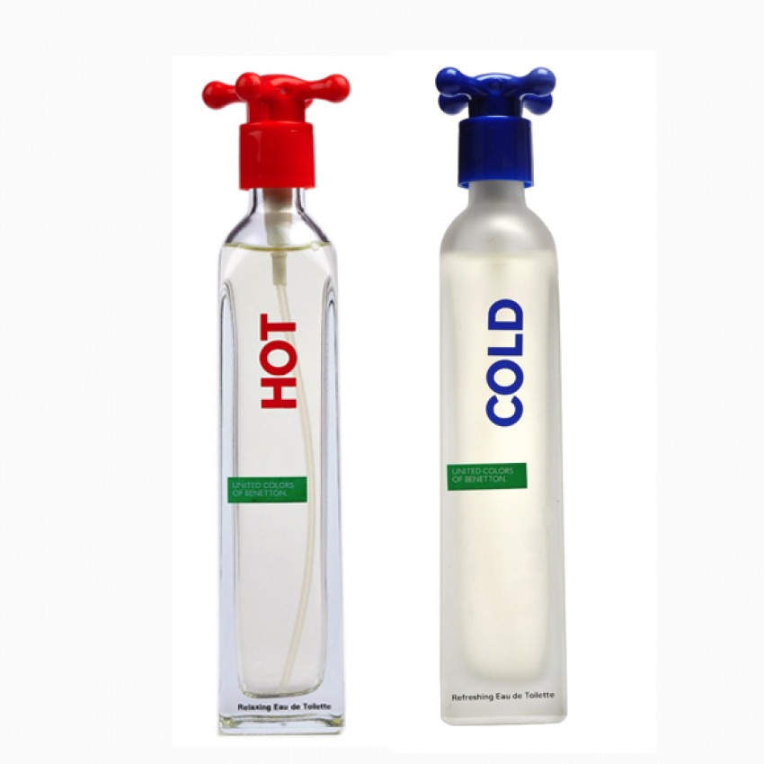 Benetton Hot and Cold Eau de Toilette for Men 100ml product preview, discount at cheapest price