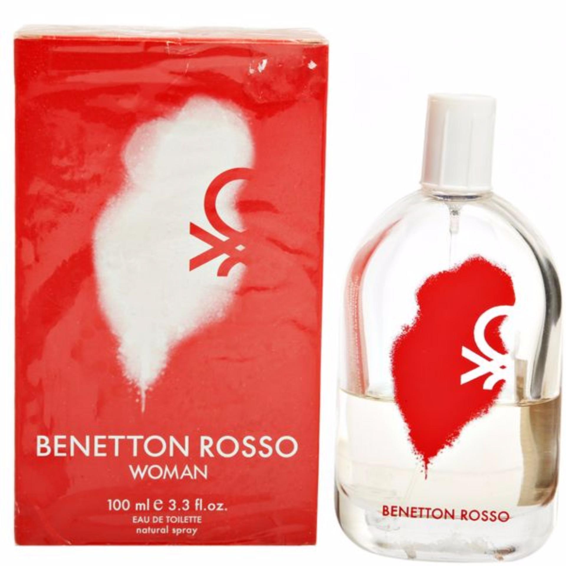 Benetton Rosso Woman 100ml
