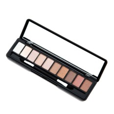 BEST SELLER Astar Mini Portable 10 Colors Eyeshadow Makeup Cosmetic Shimmer Nature Eye Shadow Palette with Eyeshadow Sponge - intl Philippines