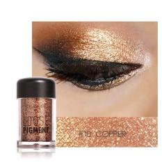 Bestprice-FOCALLURE 12 Colors Eye Loose Pigment Cosmetic Shimmer Eye Shadow Makeup - intl Philippines